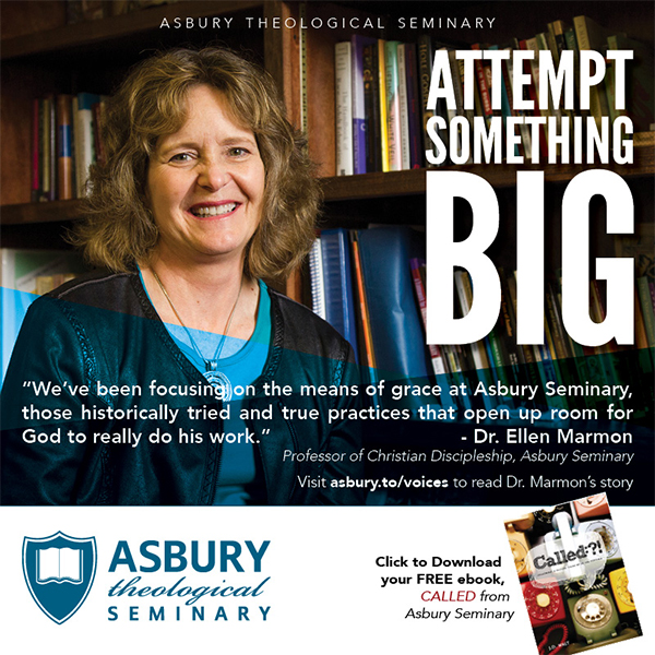 Called Magazine Asbury Seminary 600x600 Dr Ellen Marmon