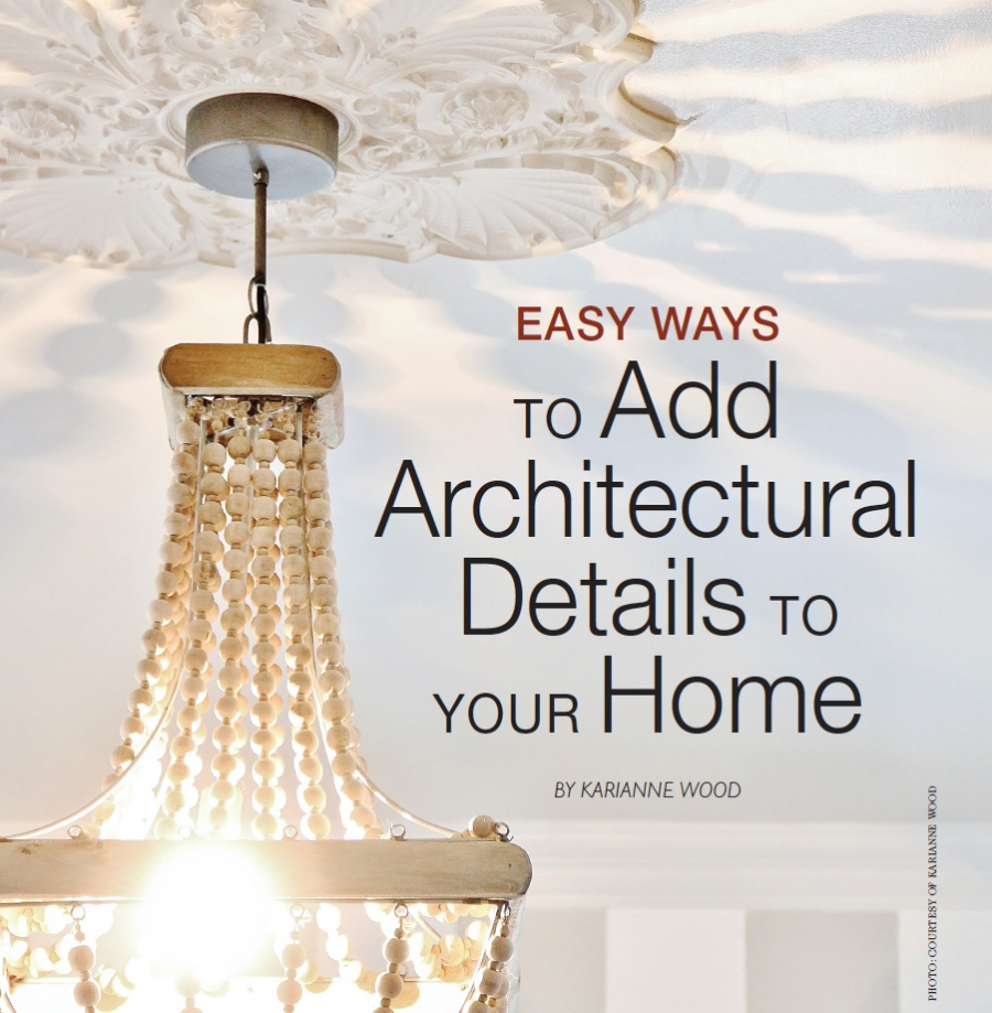 Add Architectural Details to Your Home